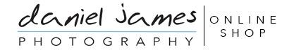 daniel james photography online shop logo