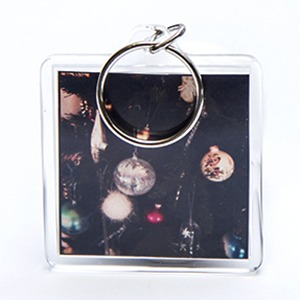 instagram photo keyring