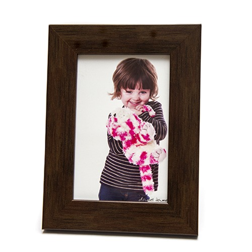 dark wood 6x4 picture photo frame