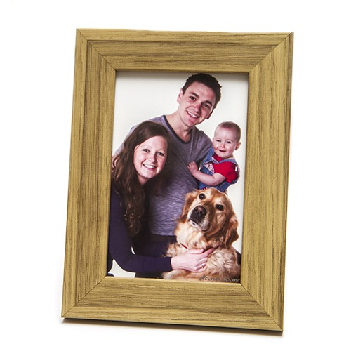 oak 6x4 picture photo frame