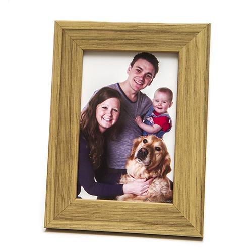 oak 6x4 picture photo frame