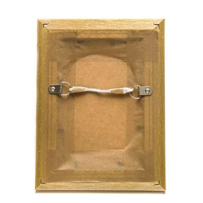 photo frame back taped strung back